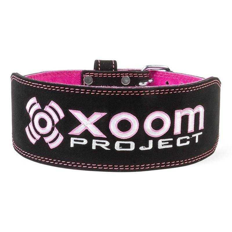 Weightlifting Belt - Black-Pink