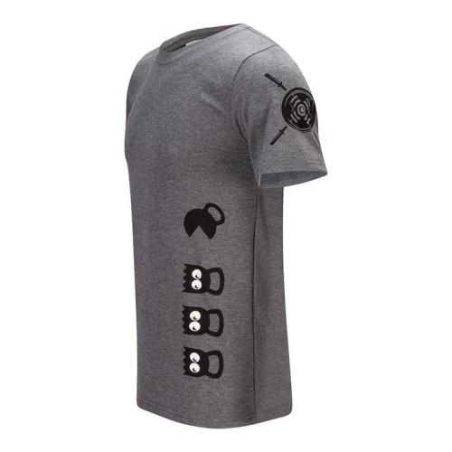 Camiseta PacMan - Gris