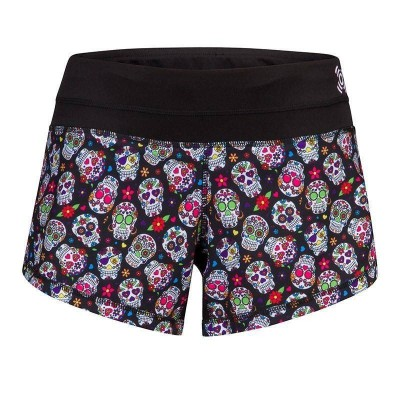 Light Shorts - Mexican Skulls