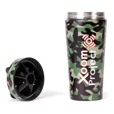 Stainless Steel XoomShaker - Camouflage