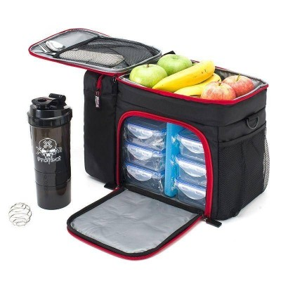 Meal Bag XP - Black Red
