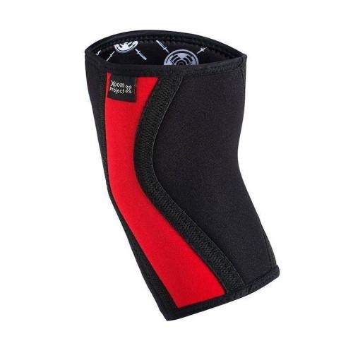 Rodilleras 5mm - Negro-rojo