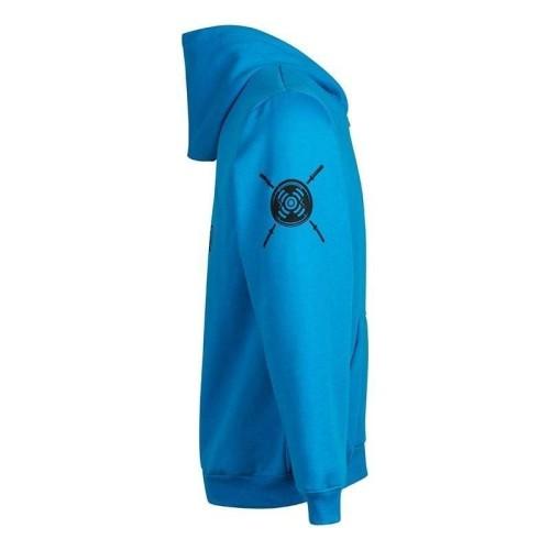 Sudadera Logo Calavera - Zip Azul