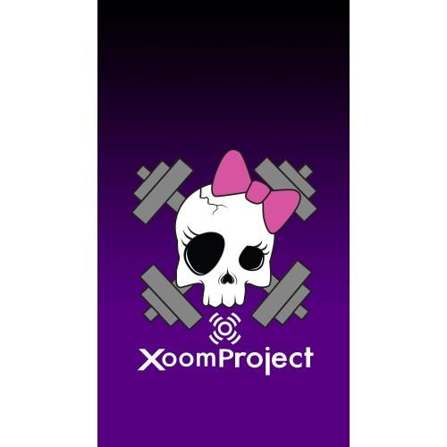 Pink Skull - Purple