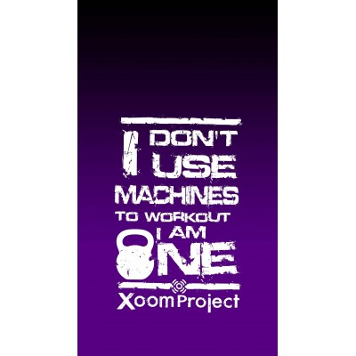 Don't use machines - Purple