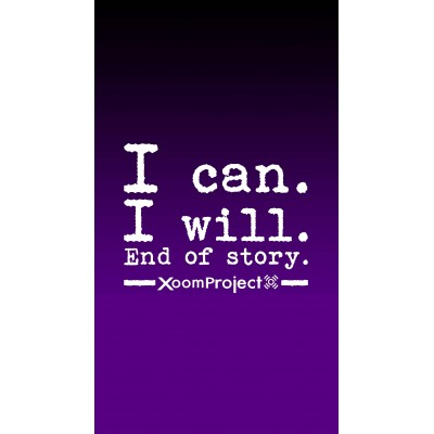 I can - Purple