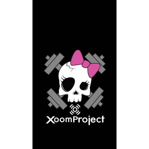Pink Skull - Black