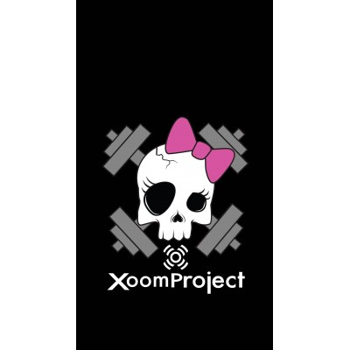 Pink Skull - Negro
