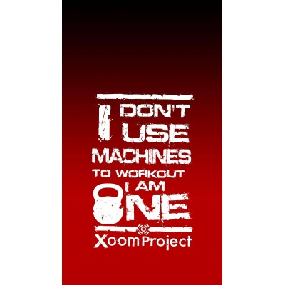 Don't use machines - Red