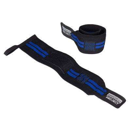 Muñequeras Velcro - Negro-Azul